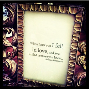 Pretty frames with famous quotes