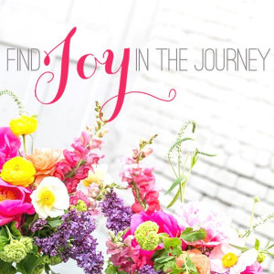 Finding Joy In the Journey #quote