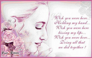 Missing you quotes with romantic messages and in love quotes to show ...