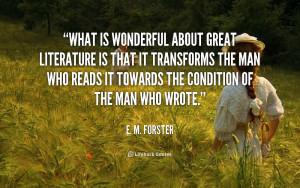 Great Literature Quotes