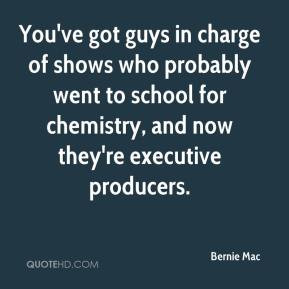 Bernie Mac - You've got guys in charge of shows who probably went to ...
