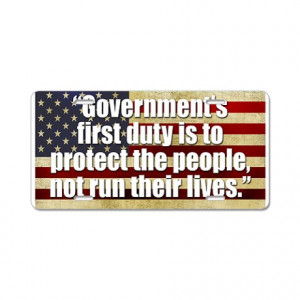 Anti Liberal Gifts > Anti Liberal Auto > Ronald Reagan Quotes Aluminum ...