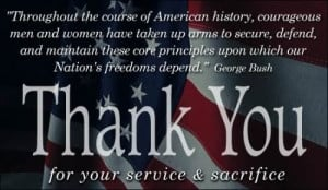 Veterans day thank you quotes 2014