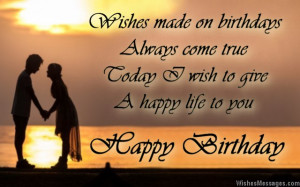 birthday wishes for fiancée sweet texts cute facebook posts i love ...