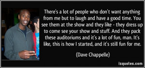 More Dave Chappelle Quotes