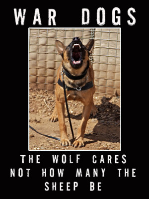Home / MILITARY WORKING DOGS / War Dog Poster (V34)