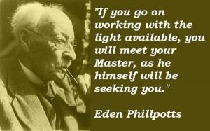 Eden phillpotts famous quotes 4
