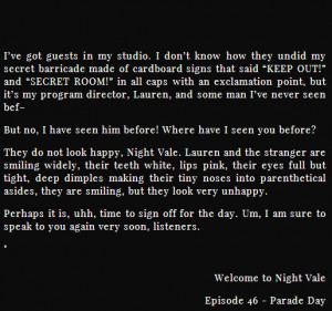 welcome to night vale quotes source http quoteimg com welcome to imgur