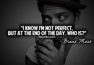 Bruno Mars Love Quotes