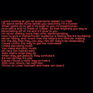 Eminem Rap God Lyrics Rap god -eminem mmlp2slim