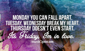 Thursday Almost Friday Quotes