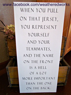 Hockey Sign Herb Brooks Quote by WeatheredWorks on Etsy, $48.00