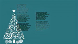 Famous Christmas Poems For Children 2013