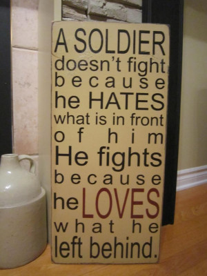 Inspirational Photos~*~ / Soldier...