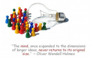 The mind is like an iceberg, it floats with one-seventh of its bulk ...