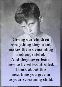 Teach your kids how to have gratitude for their blessings, they will ...