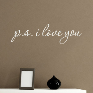 ... -Decorative-P-S-I-Love-You-Marriage-font-b-Wedding-b-font-Home.jpg