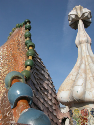 antoni gaudi to a dancing god