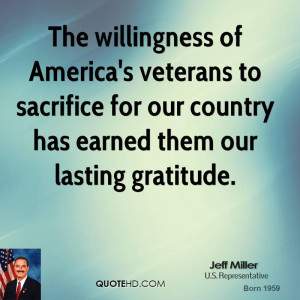 Quotes About Veterans Sacrifice