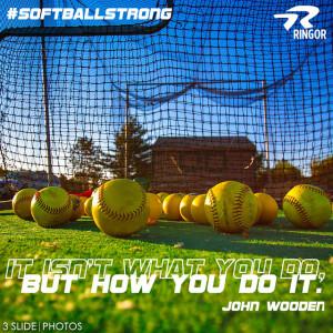 Fastpitch Softball Pitching Motion