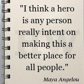 Maya Angelou #quote - beautiful.