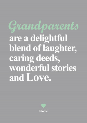 For All Wonderful Grandparents - Quotes with your Personalised canvas ...