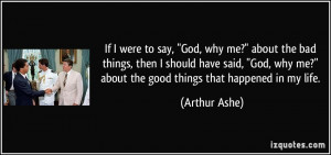 More Arthur Ashe Quotes