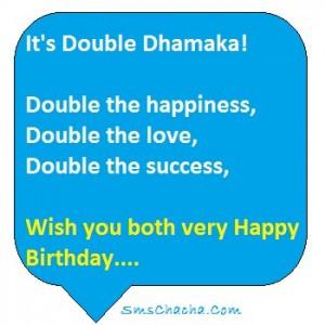 birthday wish for twins pics