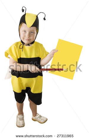 Girls Honey Bumble Bee Costume