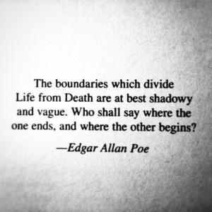 edgar allan poe, quote, writer