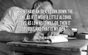 End Ernest Miller Hemingway More Love Quotes Motivational