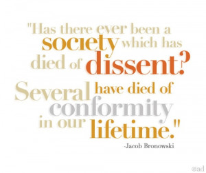 Jacob Bronowski quote