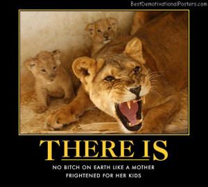 lion funny dog demotivational posters