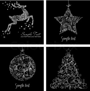 Black And White Christmas...