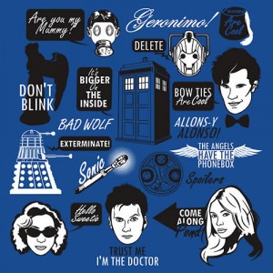 Doctor Who Quotes by Tom Trager