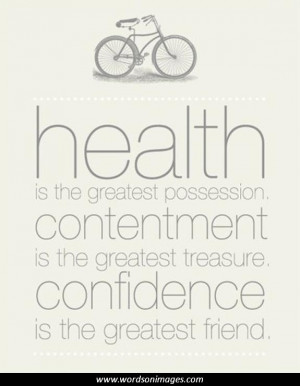 Famous health quotes