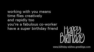 funny birthday wishes work colleague -