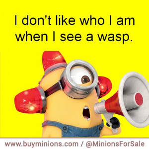 Personally I turn into a 5 year old girl wasps bees