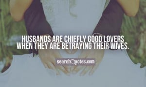 Adultery Quotes about Husband