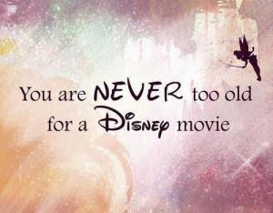 Disney quote found here .