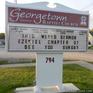 Baptist Church Sign Sayings