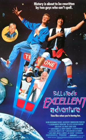 BILL AND TED'S EXCELLENT ADVENTURE: Directed by Stephen Herek. With ...