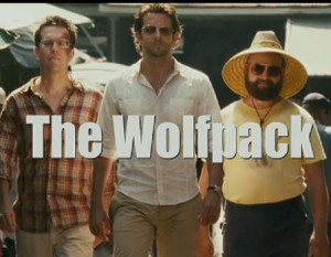 the hangover wolfpack quote re the three best friends