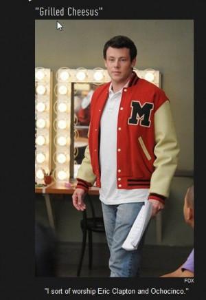 Best Finn Glee Lines