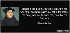 Blessed is the man that hath not walked in the way of the ...