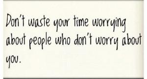 Don't waste ur time