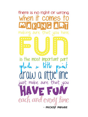 Craft Room Wall Quote - FREE Printable!