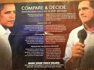 Anti-Obama mailer: 'We are no longer a Christian nation'