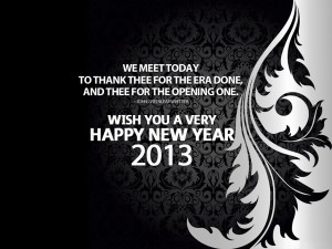 Happy New Year 2013 sayings for greeting cards 01