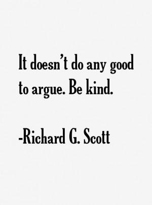 Richard G. Scott Quotes & Sayings